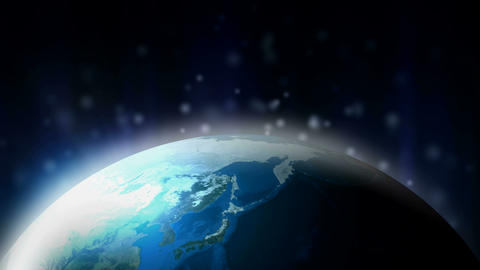 earth fission Stock Video Footage
