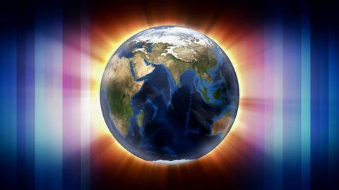 translucent globe shine Animation