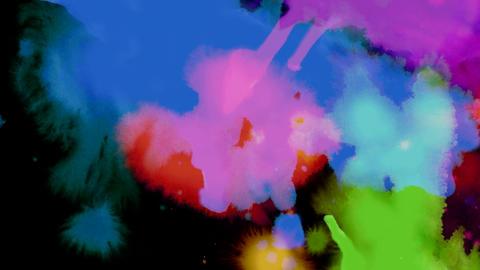 liquid colour scroll Animation