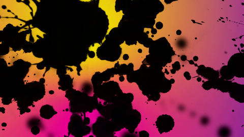 splats scroll Stock Video Footage