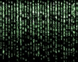 Matrix Screen stock footage