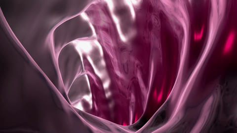 organic gel tunnel Animation