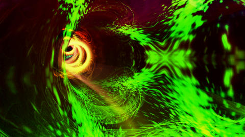 energy ring warp Stock Video Footage