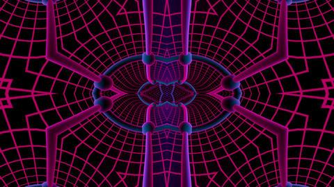 spline multi tunnel Stock Video Footage