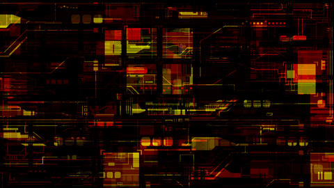 circuit phaze 3 Stock Video Footage