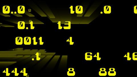 numerics Stock Video Footage