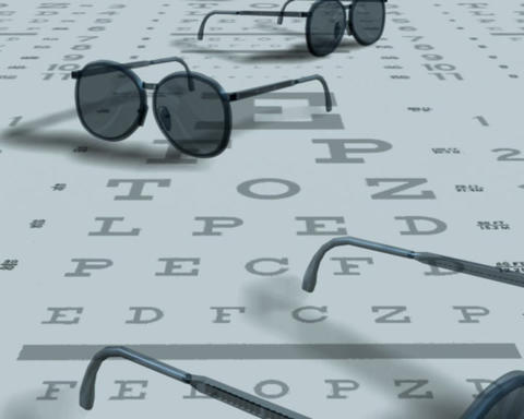 eye exam Stock Video Footage