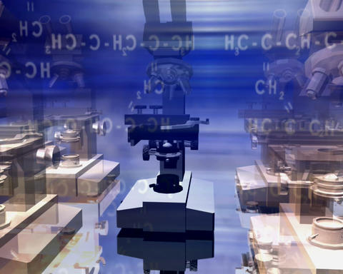 microscopes 2 Stock Video Footage
