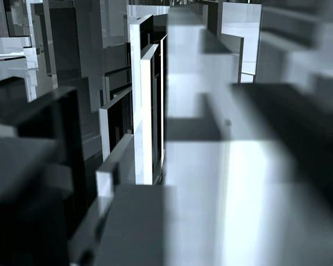 metalic glass Stock Video Footage