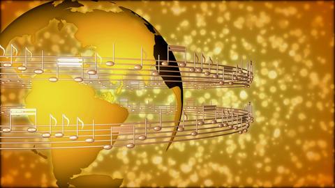 global music Animation