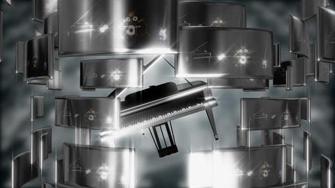 piano tech ntsc Stock Video Footage