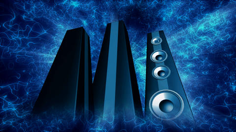 tower speakers 2 Animation