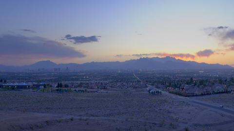 mountain sunset Stock Video Footage