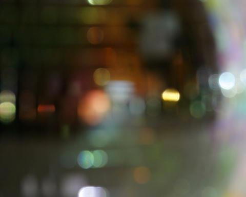 glitterball defocus Stock Video Footage