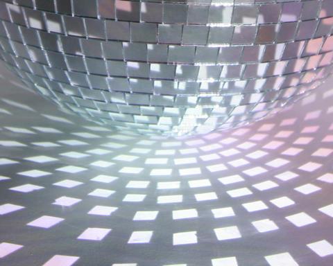 glitterball patterns Stock Video Footage