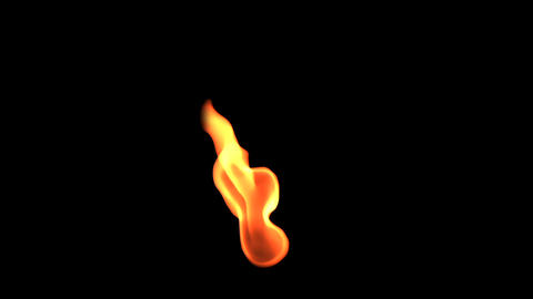 flame element 2 Stock Video Footage