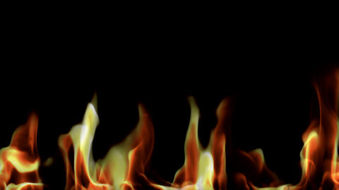 real fire lower Stock Video Footage