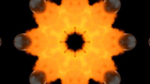 fireball star Stock Video Footage
