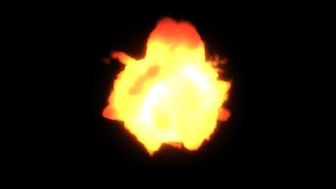 fire ball black Stock Video Footage