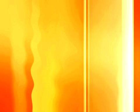 orange banding Stock Video Footage