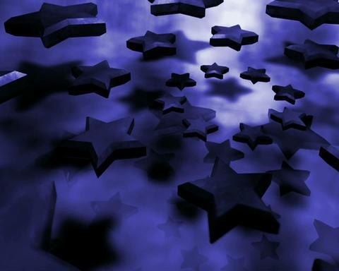 purple stars Stock Video Footage