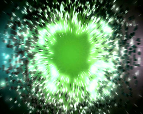 slow explosion Stock Video Footage