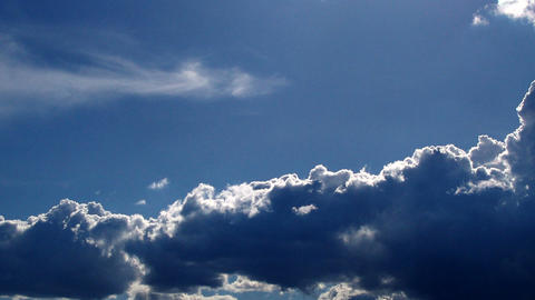 consistent clouds Stock Video Footage