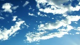 Flakey Clouds stock footage