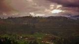 A Foggy Ecuador stock footage