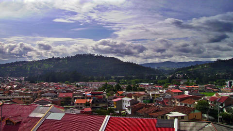 ecuador homes Stock Video Footage