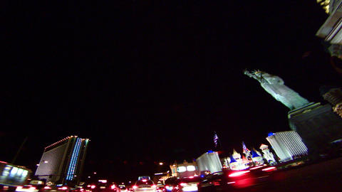 vegas drive Stock Video Footage