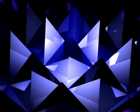 crystal pyramids Stock Video Footage
