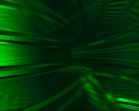 green tunnel Animation