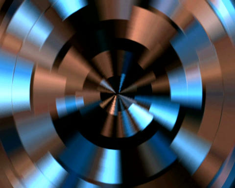 reflected copper Stock Video Footage