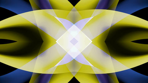 blue yellow mirror Animation