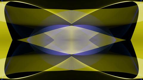 blue yellow mirror Stock Video Footage