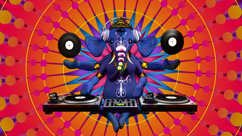 ganesh dj Stock Video Footage