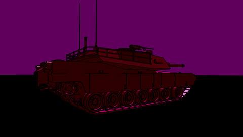 psyber tank Animation