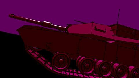 psyber tank Stock Video Footage