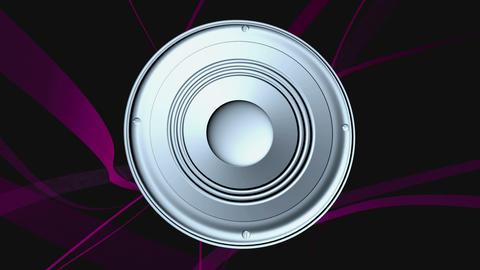 speaker cone Animation