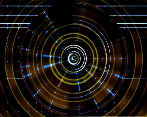 alien radar Stock Video Footage