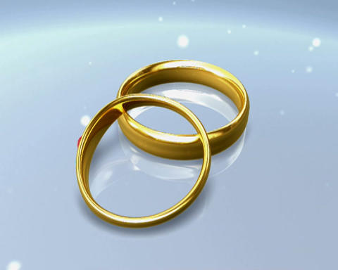 simple rings 2 CG動画素材
