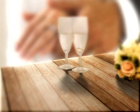 champaign toast Stock Video Footage