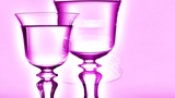 Champagne Glasses Ntsc stock footage