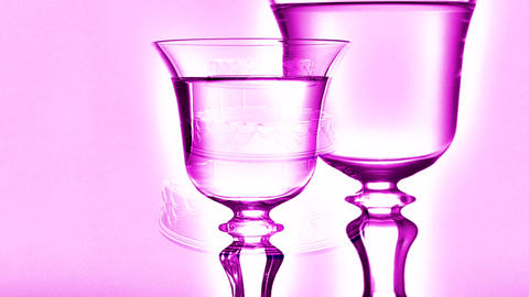 champagne glasses Animation