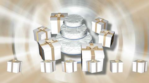 wedding cake 4 Animation