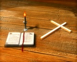 Bible And Cross stock footage