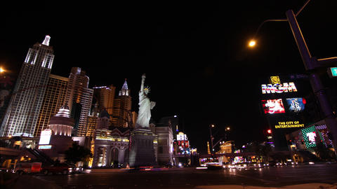 Las Vegas City Timelapse, Traffic Filmmaterial
