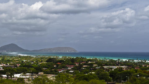 Diamond Head Crater Park, Timelapse, Oahu, Hawaii, Filmmaterial