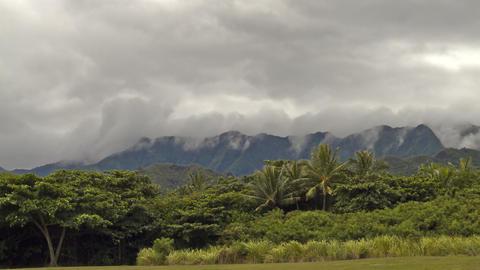 Kualoa Regional Park, Timelapse, Oahu, Hawaii, USA Filmmaterial